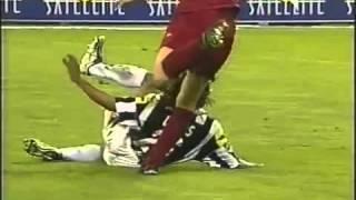 ROMA vs JUVENTUS (Salah satu laga penentuan Scudetto Roma 2000-2001)