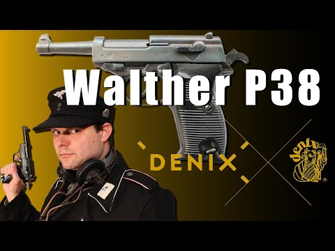 Walther P38 DENIX - Video review [ENG SUB]