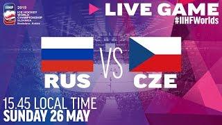 Russia-Czech Republic | Bronze Medal Game | Full Game | 2019 IIHF Ice Hockey World Championship
