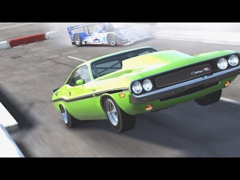 FORZA 4 HOW MUSCLE CARS SHOULD LAUNCH