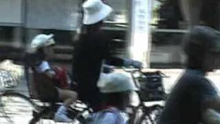 Japan Mamachari Bicycles on Parade