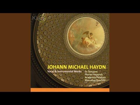Missa Tempore Quadragesimae, MH 553, for choir and basso continuo, I Kyrie