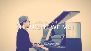 Lord Huron (13 Reasons Why) - The Night We Met (Piano Cover + Sheets)
