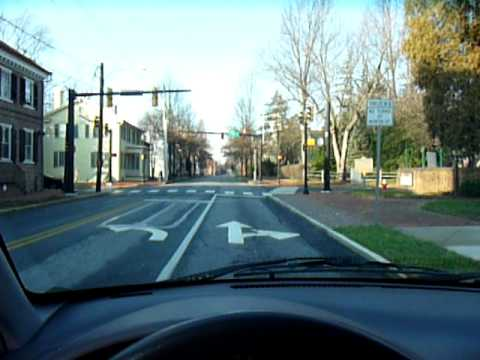 Cruising North On State Street Dover Delaware