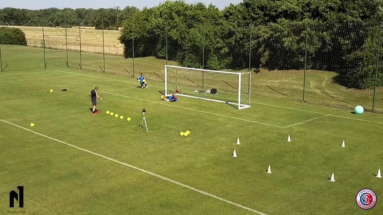 Specifique Gardien De But Circuit Training Goalkepper La Berrichonne Chateauroux Youtube