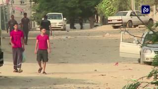 جيش الاحتلال يقصف أهدافاً للمقاومة الفلسطينية على حدود قطاع غزة - (15-3-2018)