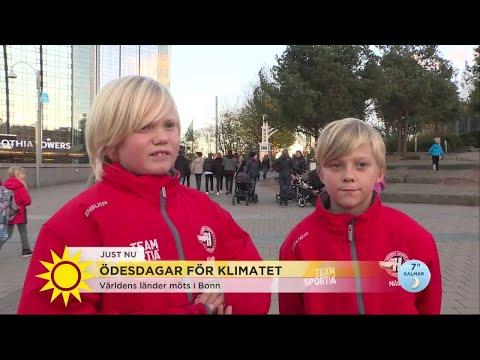 """""""Jag tänker att jag kommer dö snart"""" – Hör barnens ord och frågor till klimatministern - Nyhetsmorgo"""