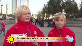"""Baixar """"Jag tänker att jag kommer dö snart"""" – Hör barnens ord och frågor till klimatministern - Nyhetsmorgo"""