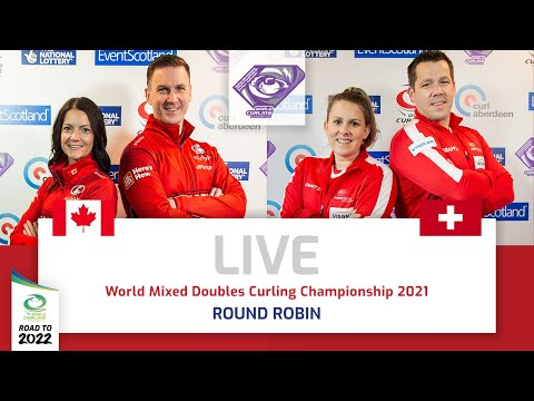 Canada v Switzerland - Qualification Game - World Mixed Doubles Curling Championship 2021