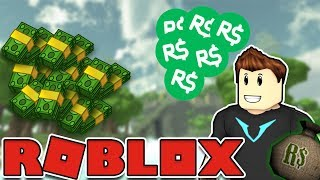 GIVE ME ALL YOUR SWEETS! | Dänische Roblox Raub Simulator | #1