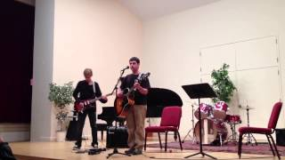 Justin Gitelman performing  Learn to Fly  for recital
