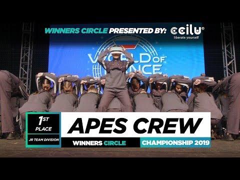 APES CREW  1st Place Jr Team  Winners Circle  World of Dance Championship 2019  WODCHAMPS19