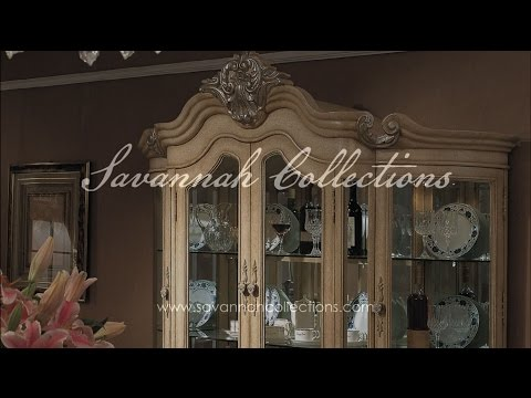 French Furniture China in Antique Bisque by Savannah Collections - Century Furniture