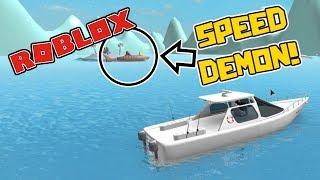 SPEED DEMON! - Roblox: Sharkbite