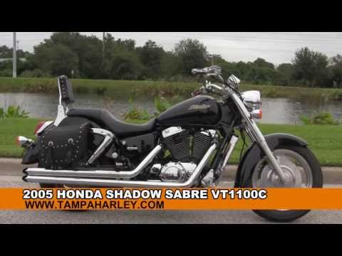Used 2005 Honda Shadow Sabre VT1100C Motorcycle for sale