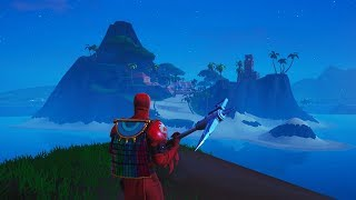 How to REACH the SECRET ISLAND by using this glitch! NEW Fortnite Season 8 Glitch!