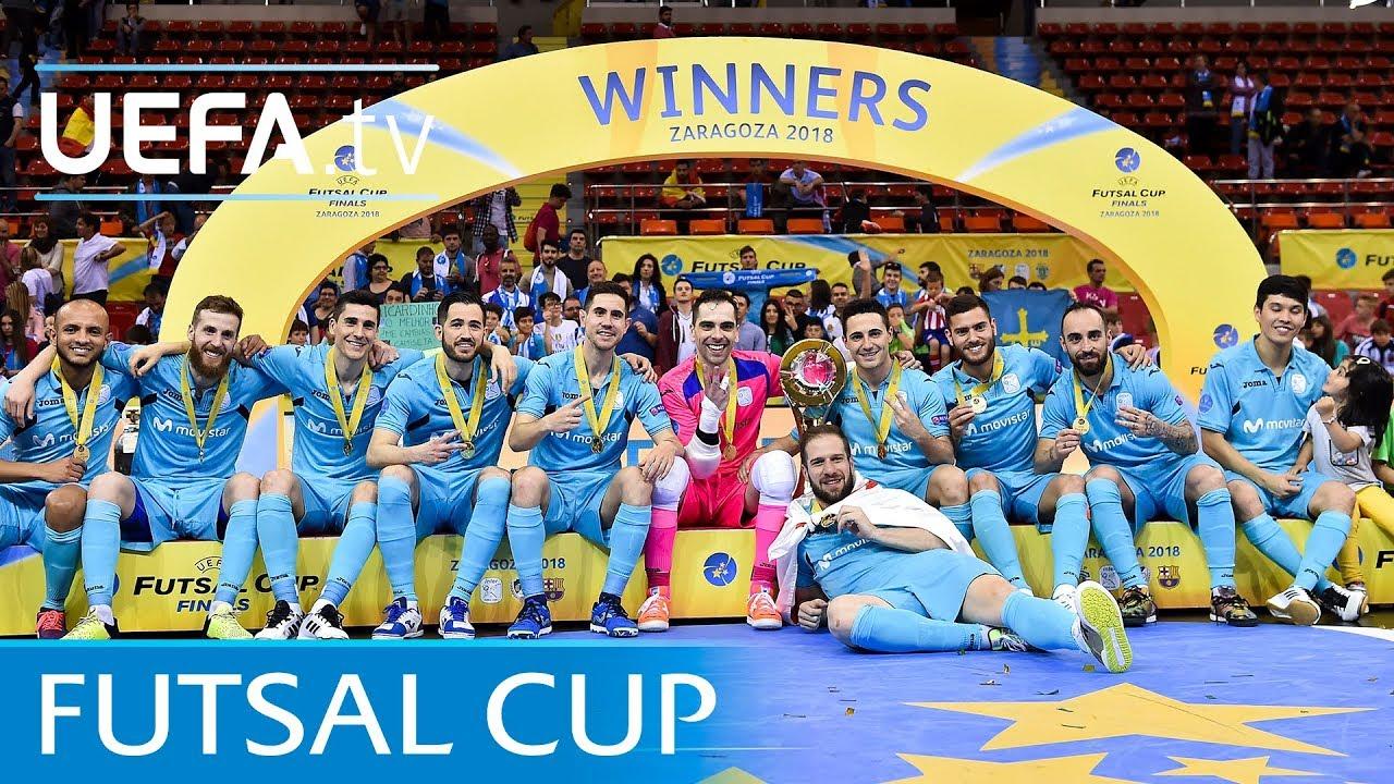2018 Futsal Cup final highlights  Sporting CP v Inter FS - YouTube b06a0e8625e26