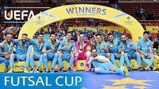 2018 Futsal Cup final highlights: Sporting CP v Inter FS