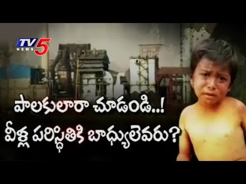 Skin Diseases to Jajarakallu Villagers  by Apple Factory Pollution | Telugu News | TV5 News