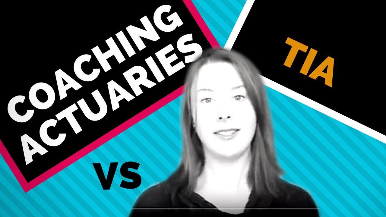 Coaching Actuaries vs TIA for Exam P (2018)