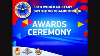 50TH WORLD MILITARY SWIMMING CHAMPIONSHIP DAY 4