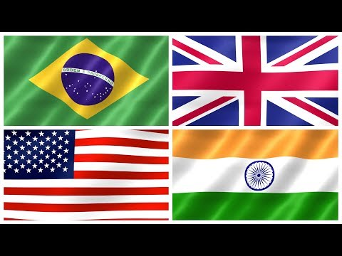 COUNTRY FLAGS OF THE WORLD for Children - Learn Flags for Kids, Kindergarten & Toddlers