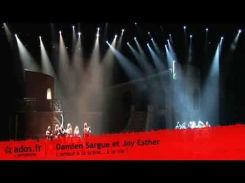 Damien Sargue et Joy Esther : L'amour à la scène...à la vie !