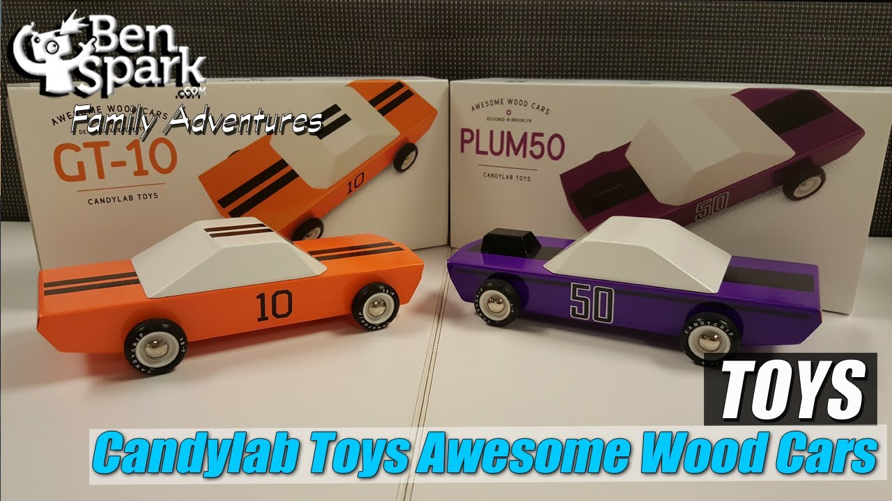 Review Candylab Toys Awesome Wood Cars Gt 10 And Plum50