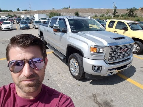 Why is a 1,900 Mile Duramax Denali at auction!?