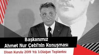 Başkanımız Ahmet Nur Çebi'nin Konuşması | Divan Kurulu 2019 Yılı 3. Olağan Toplantısı