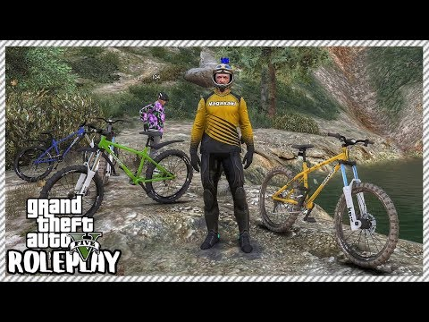 GTA 5 Roleplay - Downhill Mountain Bike Race | RedlineRP #295
