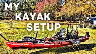 Kayak Setup - Jackson Mayfly - My Inshore Redfish Fishing Rig