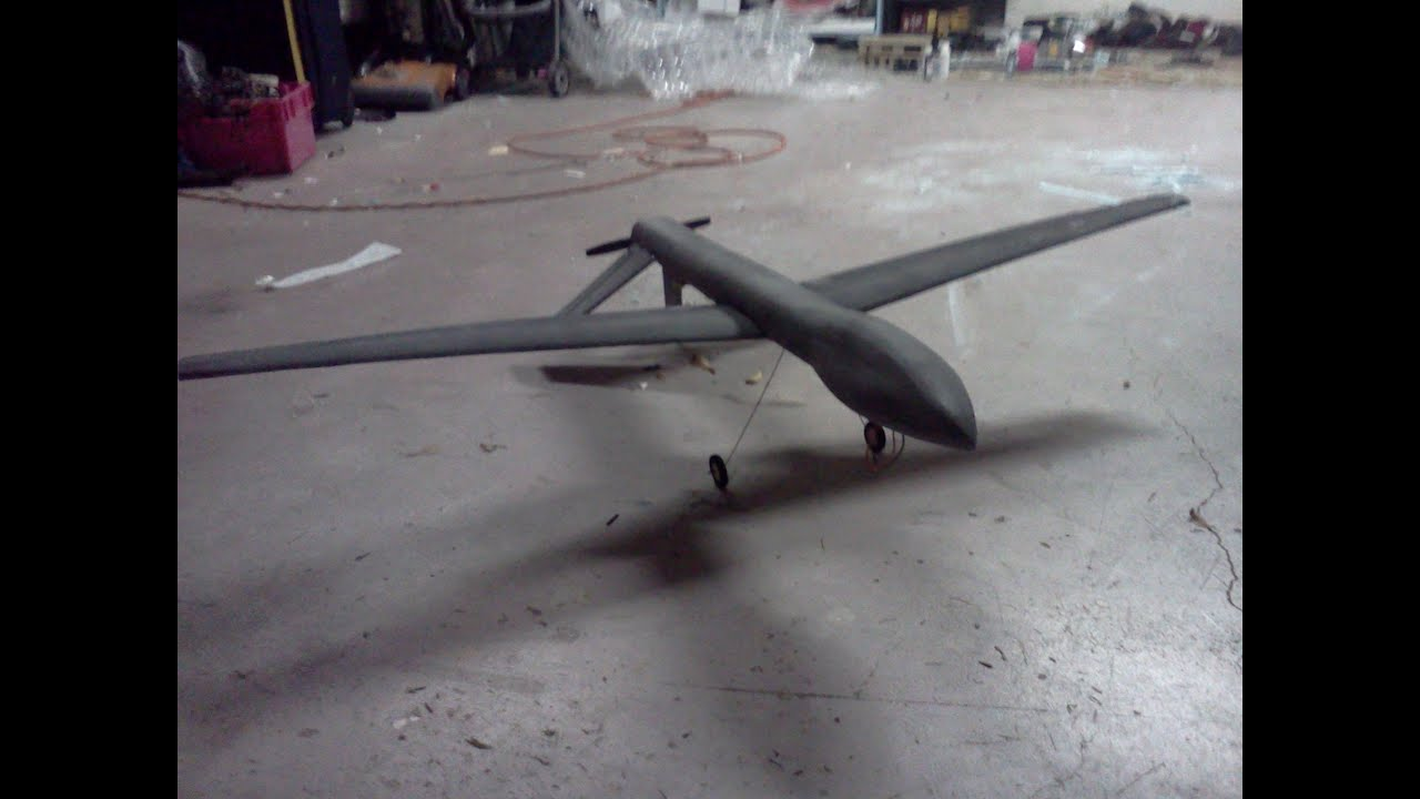 RC Predator Drone CrashFAIL