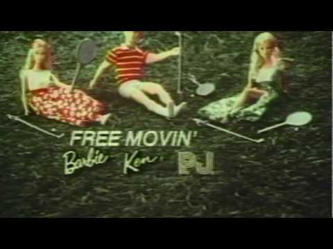 1974 Free Movin Barbie Commercial