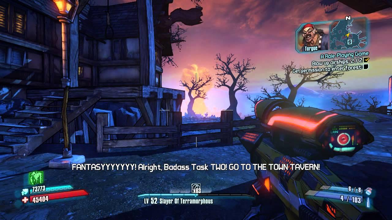 Borderlands 2 - Mr. Torgue is The Gatekeeper Tiny TIna DLC