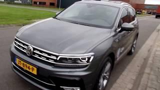 Volkswagen Tiguan R Line Indium Grey 2016 / 2017 Zijm BV Duiven