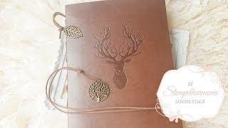 Veesun Reindeer Scrapbook Photo Album   Stempelharmonie