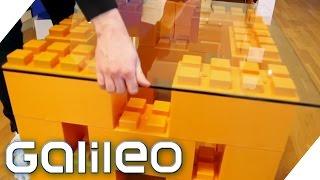 Einrichtung aus Bauklötzen | Galileo Lunch Break