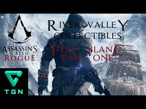 Assassin's Creed Rogue River Valley Collectibles Fort Blanc Part One