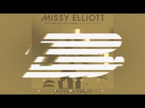 Missy Elliott - WTF (Where They From) (feat. Pharrell Williams)  (TroyBoi Remix)