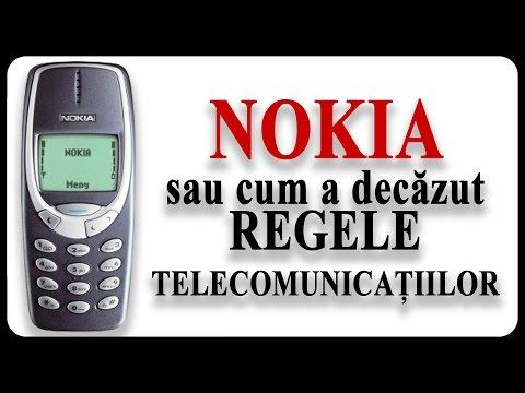 NOKIA sau cum a decăzut REGELE TELECOMUNICAȚIILOR