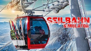 SEILBAHN Simulator: Seilbahnen bedienen in den Bergen! | Winterresort Simulator PREVIEW
