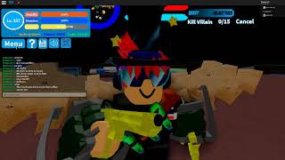 Roblox Bo ku no remaster ep3 trick to farm villains easy