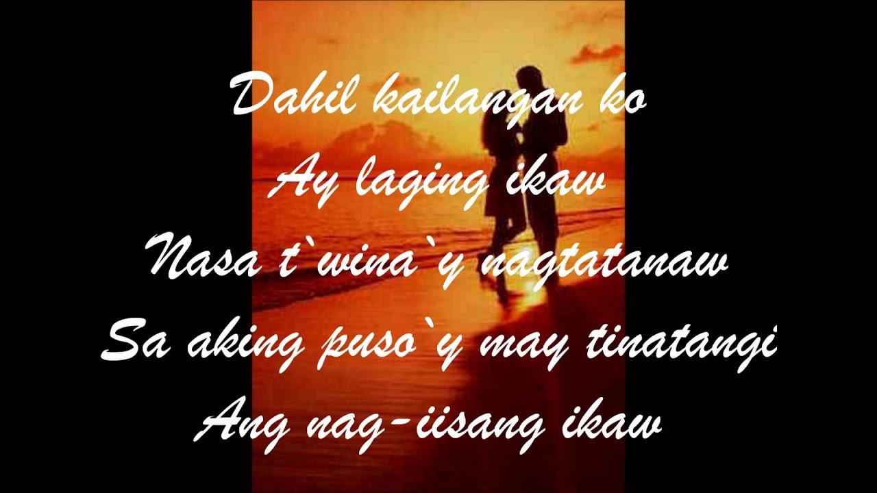 Ariel Rivera - Sa Aking Puso (Nag-Iisang Ikaw) With Lyrics ...