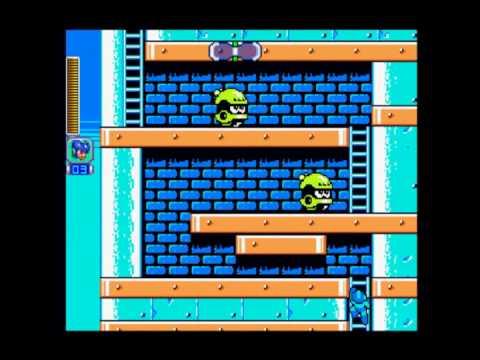 Megaman 4 Complete Works Dr Cossack stage 1