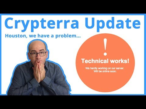 Crypterra Update: Massive Technical Failure and Dashed Hopes
