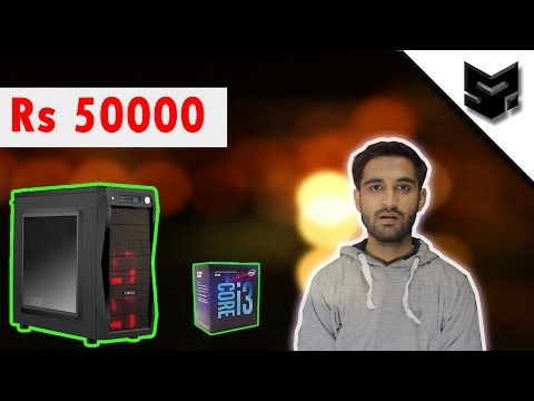 [HINDI] RS 50,000 GAMING PC BUILD : Coffee Lake Based , Core i3 8100 and much more...