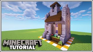 Minecraft 8x8 Small Medieval Church [How to Build] YouTube
