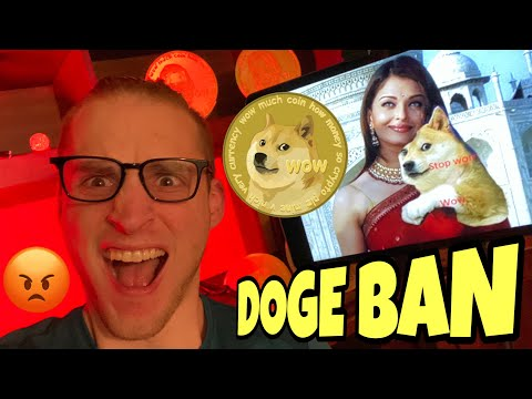 INDIA ABOUT TO BAN DOGECOIN & BITCOIN ⚠️ WARRNING TO INVESTORS ⚠️