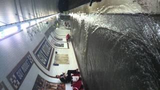 Inondation métro Guy Môquet